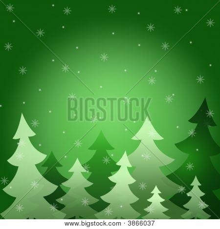 Schnee Pelz Bäume winter