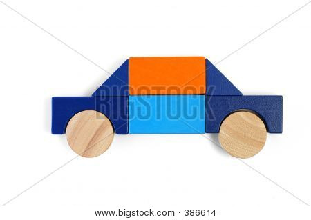 Baby Blocks Figure - Private Car