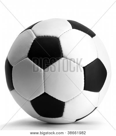 Fußball Ball, isolated on white