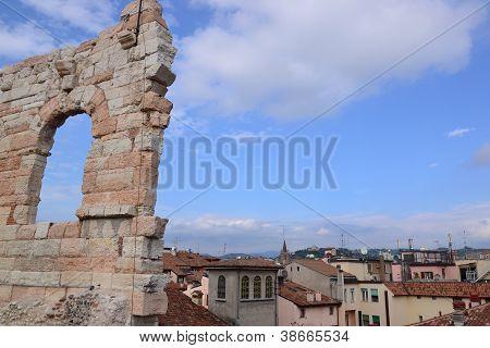 Verona and Roman Arena - Italy