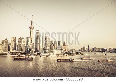 Stadtansicht von shanghai