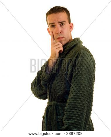 Male Bathrobe
