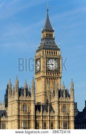 The Clock Tower in London, England, UK