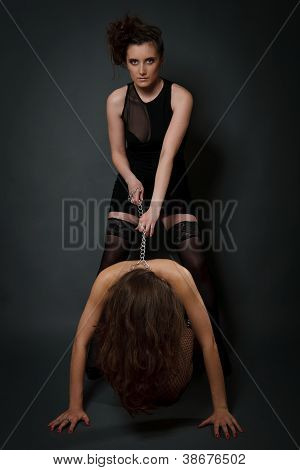 Young Women Playing In Slave