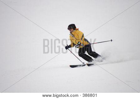 Speedy Skier