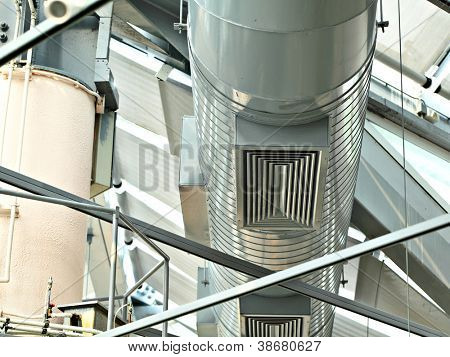 ventilation pipe of air condition