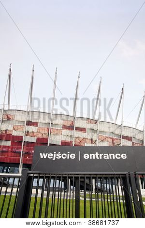 National Stadium In Warsaw, Poland