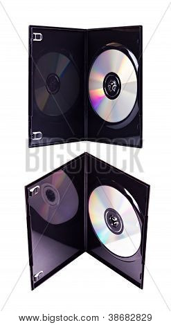 The Dvd Case With A Disk Isolated