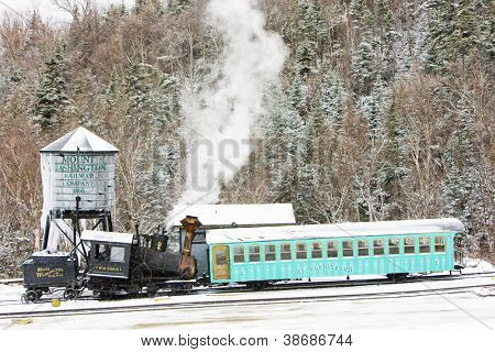 Mount Washington Cog Railway, Bretton Woods, New Hampshire, USA
