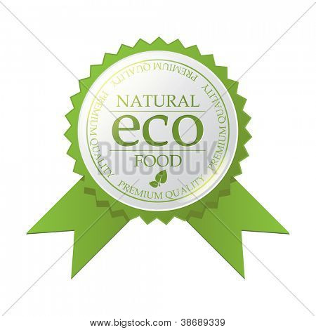 Vector ECO badge
