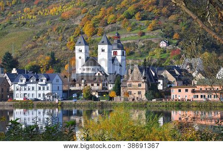 Treis-Karden,Mosel River,Germany