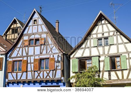 Andlau (alsace) - Houses