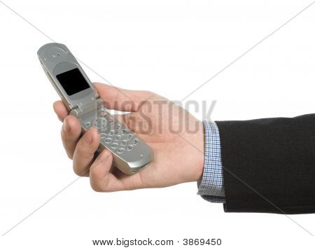 Holding A Cell Phone
