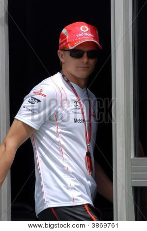 Heikki Kovalainen, Driver Of Mclaren Mercedes F1 Racing  Team