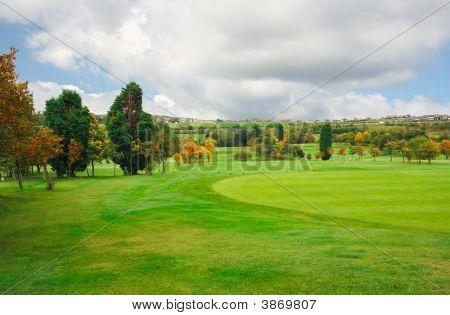 Autumnal Golf Fields