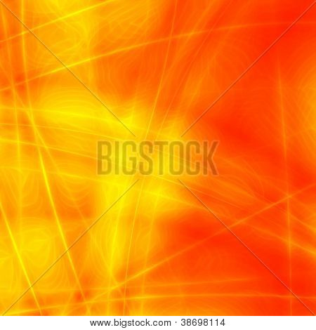Hot abstract background