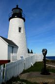 Historic Lighthouse In Maine poster