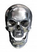 picture of cranium  - Metallic skull - JPG