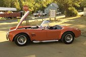 WEST POINT, CA - OCTOBER 6: AC Cobra at the antique vehicle and hot rod car rally at the 38th Lumber