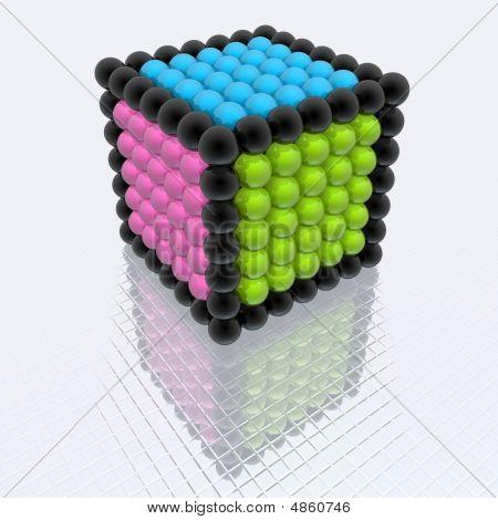 Cube Of Spheres