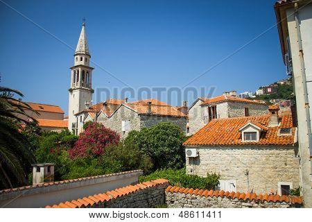 Montenegro, Budva, old town