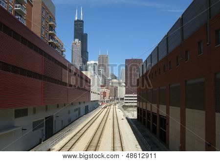 Railway Tracks (Chicago, Illinois, US)