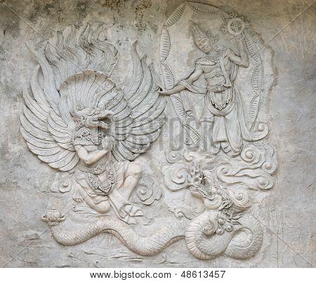 Garuda Undaunted Hindu Mythic Bird Image