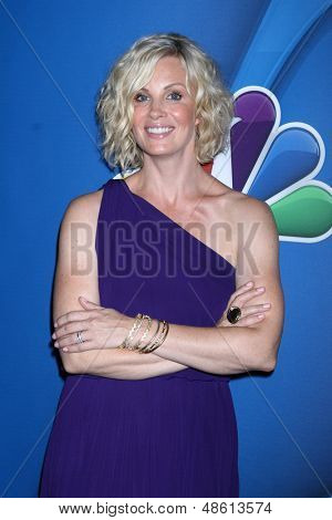 Jesse SpencerLOS ANGELES - JUL 27:  Monica Potter at the NBC TCA Summer Press Tour 2013 at the Beverly Hilton Hotel on July 27, 2013 in Beverly Hills, CA