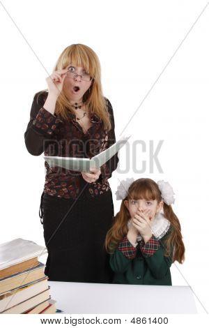 Teacher Is Shocked At Schoolgirl's Homework.