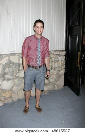 LOS ANGELES - JUL 27:  Bradford Anderson arrives at the 2013 General Hospital Fan Club Luncheon  at the Sportsman's Lodge on July 27, 2013 in Studio City, CA