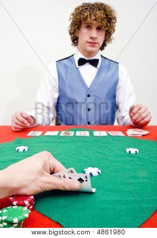 Peeking At Cards