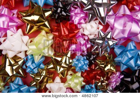 Lot Of Coulored Bows Collection