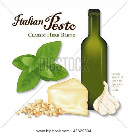 Italian Pesto, Classic Herb Blend