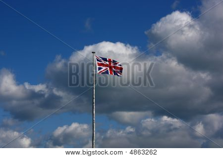 Lonely Union Flag