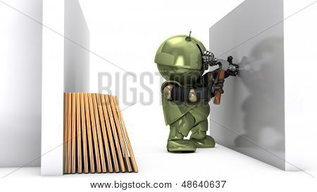 Original 3D character