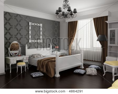 Modern Bedroom Interior