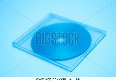 Blue Toned CD Case II
