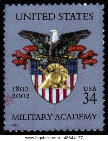 Coat Of Arms Of  The Us Military Academy At West Point