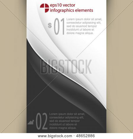 eps10 vector infographics elements background