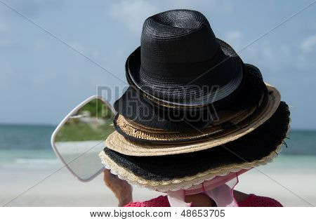 Bahama hats for souveniors