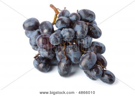 Ripe Grapes Isolated