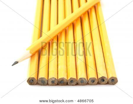 Yellow Number Two Pencils