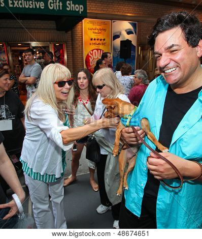 Broadway Barks Hosts Fifteenth Annual Adoption Event in Shubert Alley