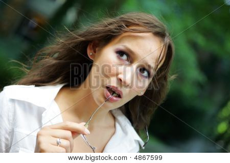 Girl Suprised