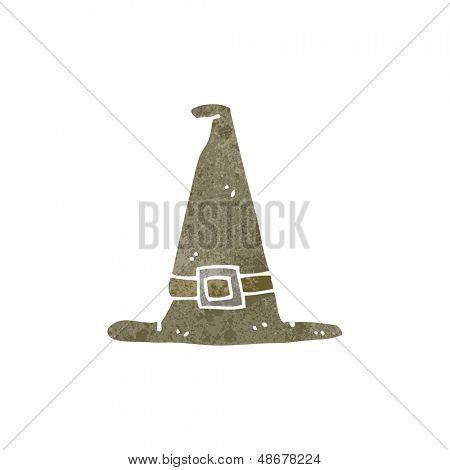 retro cartoon pilgrim hat