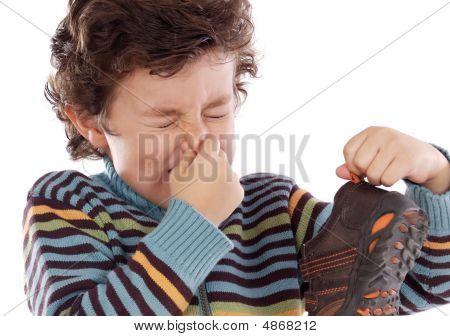 Boy With Stinky