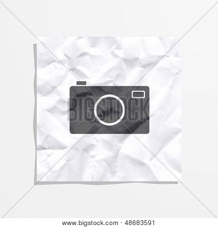 Stock symbolic image camera