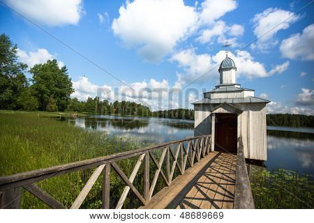 Intercession monastery of Tervenichi (orthodox), Russia