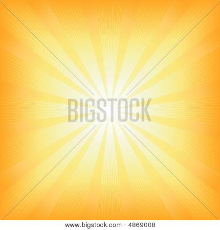 Sol Plaza verano luz Burst