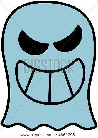 Freche Halloween Ghost